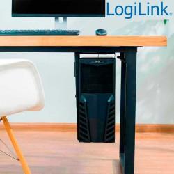 Logilink EO0005 - Soporte CPU bajo mesa o fijacion en Pared, Giratorio