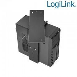 Logilink EO0004 - Soporte CPU bajo mesa ajustable, Giratorio, Deslizable | Marlex