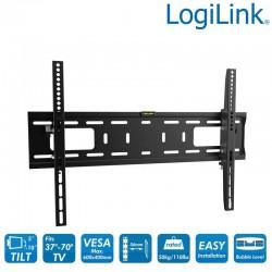 Soporte TV de Pared, inclinación -10º/+5º, 37-70'', 50 kg Logilink BP0018