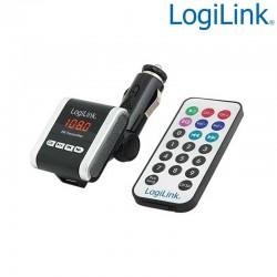 Transmisor FM con Reproductor MP3 para coche Logilink FM0001A