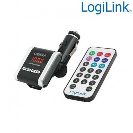 Logilink FM0001A - Transmisor FM con Reproductor MP3 para coche | Marlex Conexion