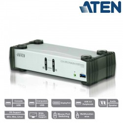 KVM de 2 Puertos USB 3.0 DisplayPort 1.1, con Audio Aten CS1912