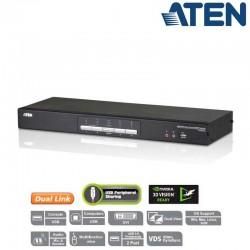 KVM de 4 Puertos USB DVI Dual View Aten CS1644A