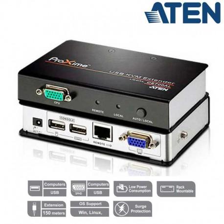 Aten CE700A - Extensor KVM USB-VGA (150m)