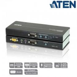 Extensor KVM USB-VGA con Audio y RS232 (200m) Aten CE750A