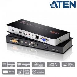 Extensor KVM USB-VGA con Audio y RS232 (300m) Aten CE770