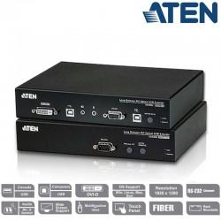Extensor KVM USB-DVI por Fibra Optica (20 Km) Aten CE690