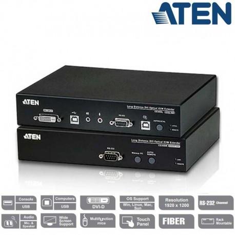 Aten CE690 - Extensor KVM DVI por Fibra Optica(20Km)