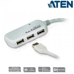 Aten UE2120H - Cable Amplificador USB 2.0 de 4 Puertos (12m ) | Marlex