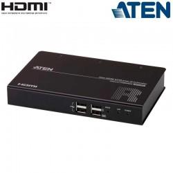 Receptor compacto KVM USB-HDMI RS232 sobre LAN Aten KE8900SR
