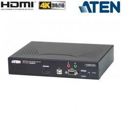 Transmisor KVM USB-HDMI 4K con Audio y RS232 sobre LAN Aten KE8950T