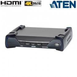 Receptor KVM USB-HDMI 4K con Audio y RS232 sobre LAN Aten KE8950R