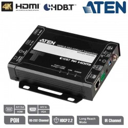 Aten-VE2812AT - Transmisor HDMI y VGA HDBaseT con POH (4K a 100 m)