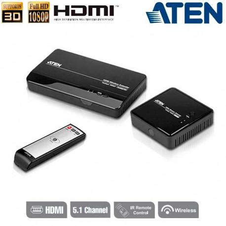 Aten VE809 -Extensor inalámbrico HDMI (1080p a 30m) | Marlex Conexion