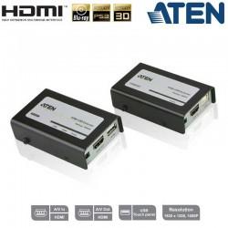 Extensor HDMI con USB sobre Cat5e/6 (60m) Aten VE803