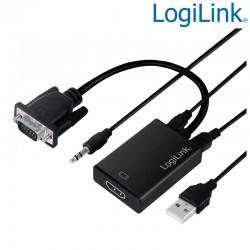 Conversor VGA con Audio a HDMI Logilink CV0060