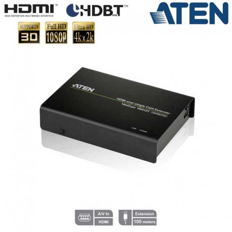 Aten VE812T - Transmisor HDMI HDBaseT (Clase A) | Marlex Conexion