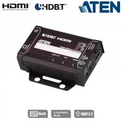 Receptor HDMI HDBaseT (Clase A), Diseño Compacto Aten VE811R