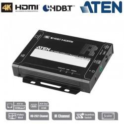 Receptor 4K HDMI HDBaseT con escalador Aten VE816R