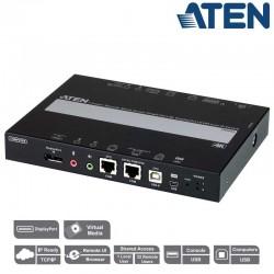 Unidad de control KVM por IP (DisplayPort y RS232) Aten CN9950