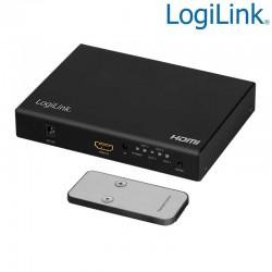 Logilink HD0054 - Procesador de Videowall 2x2 HDMI 4K 1 entrada/4 salidas