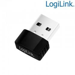 Logilink WL0086B - Mini Adaptador USB 2.0 Wireless 802.11B/G/N 300 Mbs