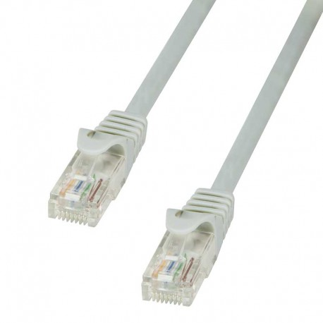 Logilink CP1052U - Cable de red Cat. 5e U/UTP CCA Gris de 2m