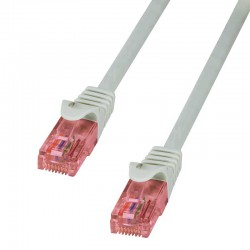 Logilink CQ2032U - Cable de Red Cat. 6 U/UTP Cobre LSHZ Gris de 1m