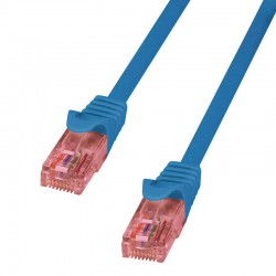 Logilink CQ2036U - Cable de red Cat.6 U/UTP Cobre LSHZ Azul de 1m