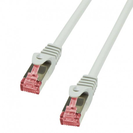 Logilink CQ2012S - Cable de red Cat. 6 S/FTP Cobre LSHZ Gris de 0.25m