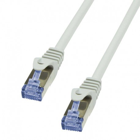 Logilink CQ4012S - Cable de red Cat. 7 S/FTP Cobre LSHZ Gris de 0.25m