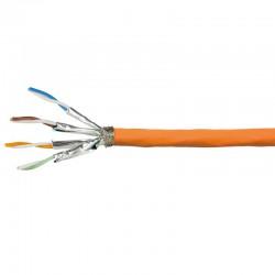 Logilink CPV0062 - 500m Bobina Cat.7A S/FTP PIMF LSZH RIGIDO COBRE | Marlex Conexion