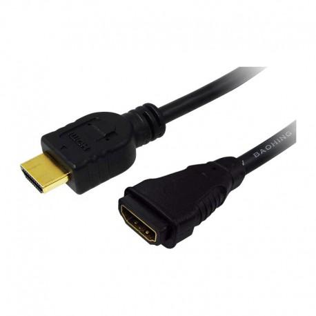 Logilink CH0059 - 1m Cable Alargo HDMI Alta Velocidad con Ethernet