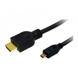 1m Cable HDMI Alta Velocidad A - D (micro) Logilink CH0030