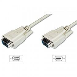 1,8m Cable SVGA Macho-Macho Standard Beige