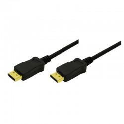 5m Cable DisplayPort 1.1 Negro Logilink CV0032