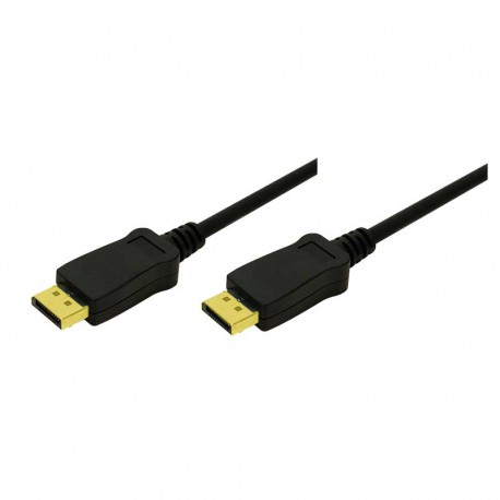 Logilink CV0033 - 10m Cable DisplayPort 1.1 Negro | Marlex Conexion