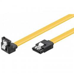 0,5m Cable Datos SATA 3 (6Gbs) Acodado