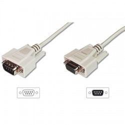 2m Cable Serie DB9M-DB9H 1:1 Pin a Pin
