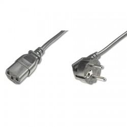 Logilink CP095 - 3m Cable de Alimentación CPU-RED Negro | Marlex Conexion