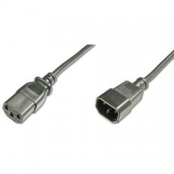 1,8m Cable de Alimentación CPU-MONITOR Negro