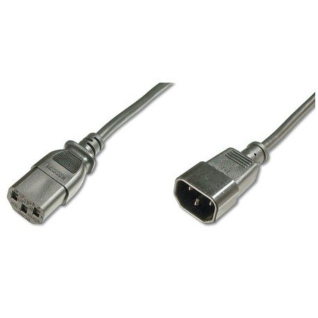 Logilink CP091 - 1,8m Cable de Alimentación CPU-MONITOR Negro | Marlex Conexion