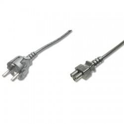 2m Cable de Alimentación Portátil TREBOL , Negro Logilink CP093