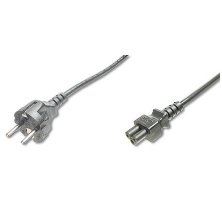 Logilink CP093 - 2m Cable de Alimentación Portátil TREBOL , Negro | Marlex Conexion