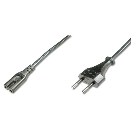 Logilink CP092 - 1,8m Cable de Alimentación Portátil OCHO Negro | Marlex Conexion