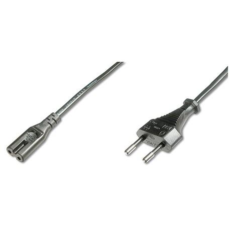 Logilink CP145 - 3m Cable de Alimentación Portátil OCHO Negro | Marlex Conexion