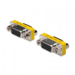 Adaptador de Género VGA HDDB15 Hembra - Hembra | Marlex Conexion