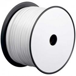 100m Bobina Cable Telefónico plano 8 hilos Blanco