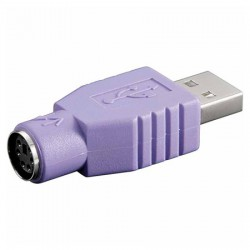 Adaptador USB A Macho a PS/2 Hembra