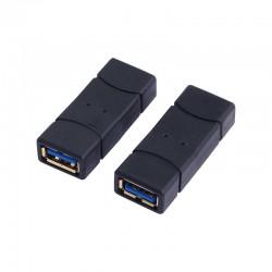 Logilink AU0026 - Adaptador USB 3.0 A Hembra-Hembra | Marlex Conexion